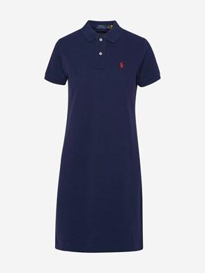 POLO RALPH LAUREN - BLUE DRESS