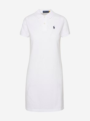 POLO RALPH LAUREN - WHITE DRESS