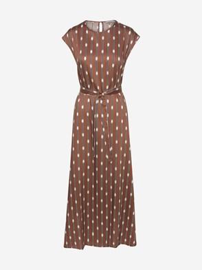 PESERICO - BROWN DRESS