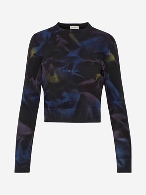 SAINT LAURENT - FELPA MULTICOLORE
