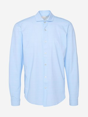 BRIAN DALES - LIGHT BLUE SHIRT