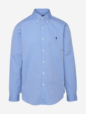 POLO RALPH LAUREN - LIGHT BLUE STRETCH SHIRT