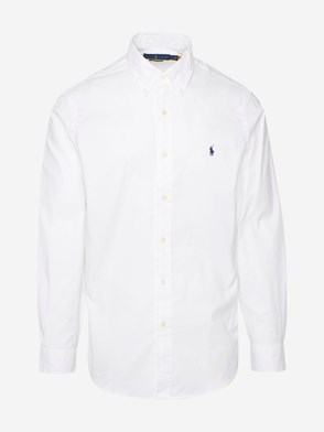 POLO RALPH LAUREN - WHITE OXFORD SHIRT