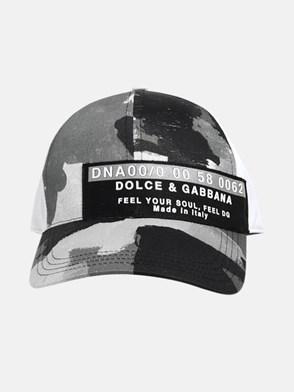DOLCE & GABBANA - CAPPELLINO MULTICOLORE