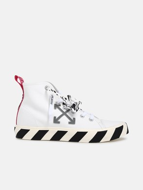 OFF WHITE - SNEAKER MID TOP VULCANIZED BIANCHE