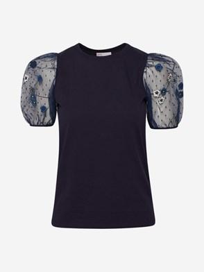 REDVALENTINO - BLUE T-SHIRT