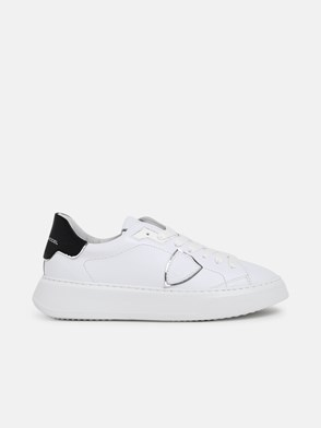 PHILIPPE MODEL - WHITE TEMPLE LOW SNEAKERS