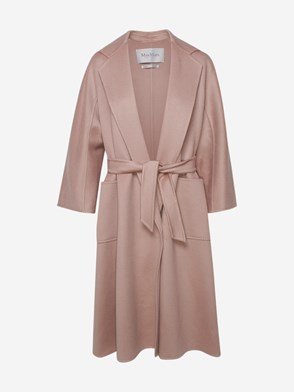 MAX MARA - POWDER PINK LABBRO COAT