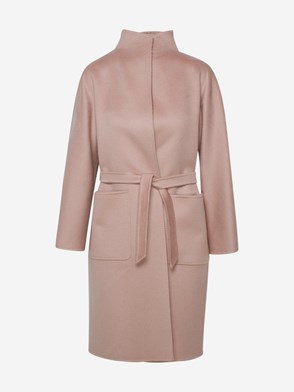 MAX MARA - POWDER PINK LILIA COAT