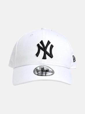 NEW ERA CAP - WHITE NY HAT