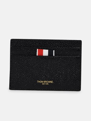 THOM BROWNE - BLACK CARD HOLDER