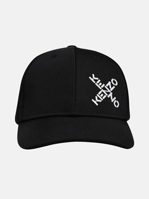 KENZO - CAPPELLO BASEBALL LOGO X NERO
