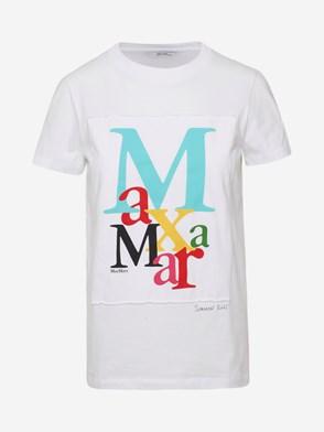 MAX MARA - WHITE HUMOUR T-SHIRT