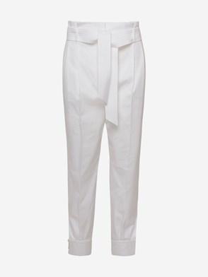 MAX MARA - WHITE EBURNEA PANTS