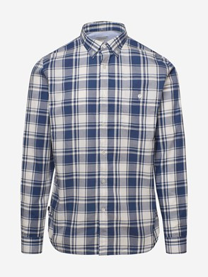 WOOLRICH JOHN RICH & BROS - BLUE CHECK SHIRT