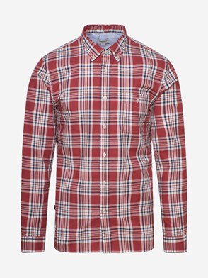 WOOLRICH JOHN RICH & BROS - RED CHECK SHIRT