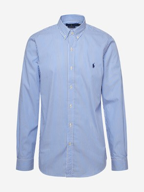 POLO RALPH LAUREN - BLUE STRIPED SHIRT