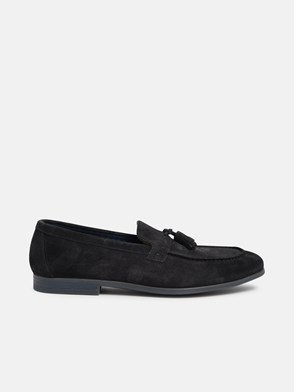 DOUCAL'S - BLACK LOAFERS