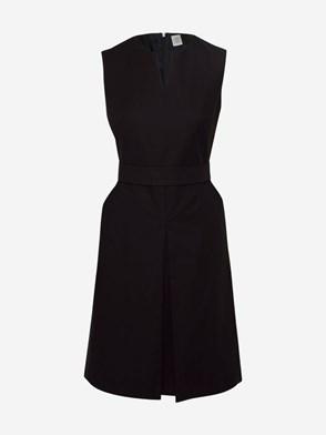 ELEVENTY - BLACK SLEEVELESS DRESS