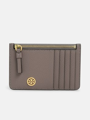 TORY BURCH - GREY CARD HOLDER