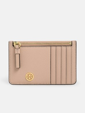 TORY BURCH - POWDER PINK CARD HOLDER