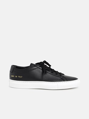 COMMON PROJECTS - BLACK ACHILLES SNEAKERS