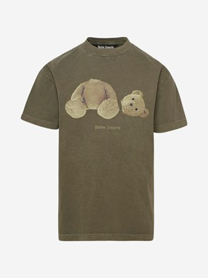 PALM ANGELS - T-SHIRT GD PA BEAR VERDE