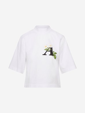 PALM ANGELS - T-SHIRT DAISY BIANCA