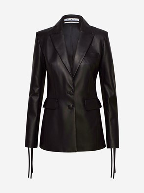 OFF-WHITE - BLAZER MONOBREASTED NERA
