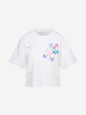 OFF-WHITE - T-SHIRT ARROWS BIANCA