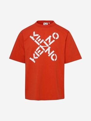 KENZO - T-SHIRT ARANCIONE