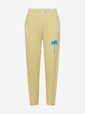 PALM ANGELS - PANTALONE PXP GIALLO