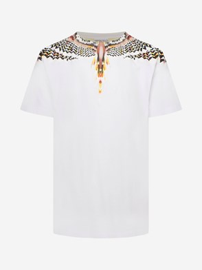 MARCELO BURLON COUNTY OF MILAN - T-SHIRT GRIZZLY WINGS BIANCA