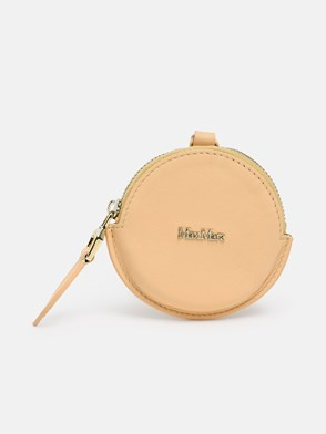MAX MARA - BEIGE DESTINO COIN HOLDER