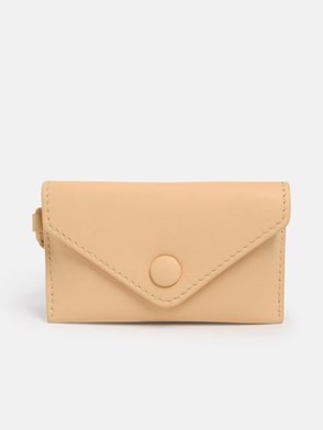 MAX MARA - BEIGE DULA CARD HOLDER