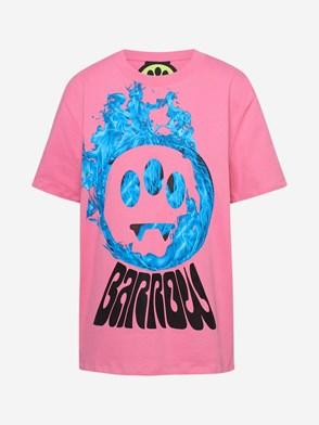 BARROW - PINK T-SHIRT