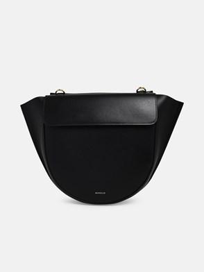 WANDLER - BLACK MEDIUM HORTENSIA BAG