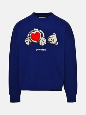 PALM ANGELS - BLUE BEAR IN LOVE SWEATSHIRT