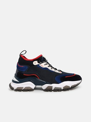 MONCLER - SNEAKER LEAVE NO TRACE BLU
