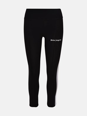 PALM ANGELS - PANTALONE LEGGINS NERO