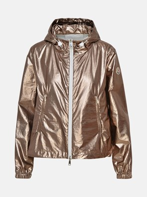 MONCLER - GOLD ESCHAMAIL RAINCOAT