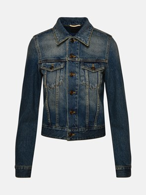 SAINT LAURENT - BLUE DENIM JACKET