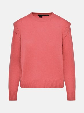 360 CASHMERE - RED MILA SWEATER
