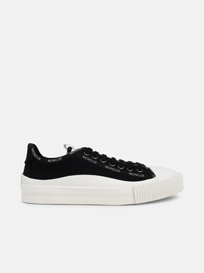 MONCLER - BLACK GLISSIERE SNEAKERS