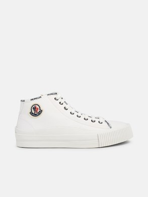 MONCLER - WHITE LISSEX SNEAKERS