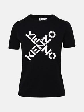 KENZO - T-SHIRT M/C LOGO X NERA