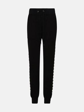 ELEVENTY - BLACK JOGGING PANTS