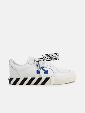 OFF-WHITE - WHITE LOW VULCANIZED SNEAKERS