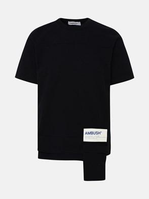 AMBUSH - BLACK WAIST POCKET T-SHIRT