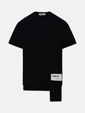 AMBUSH - T-SHIRT WAIST POCKET NERA